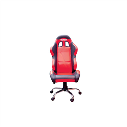 BikeTek Team Chair Red With Black Trim - Ducati