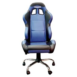 BikeTek Team Chair Blue With Black Trim - Yamaha
