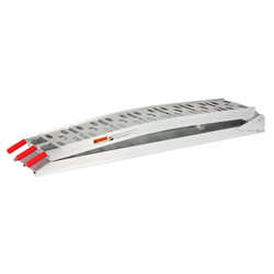 Aluminium Folding Loading Ramp 340Kg Load - 2170mm x 230mm (Extended)