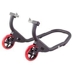 BikeTek Premium Front Track Paddock Stand - Matt Black