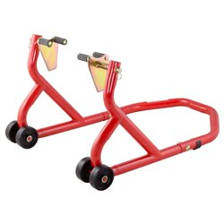 BikeTek Series 3 Front Track Paddock Stand - Red