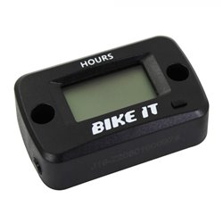 Bike It Digital LCD Wireless Vibration Hour Meter
