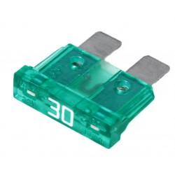 Steek-zekering 30A groen