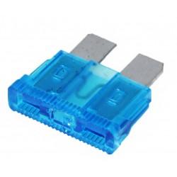 Steek-zekering 15A blauw