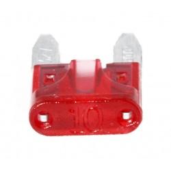 Steek-zekering mini 10A rood