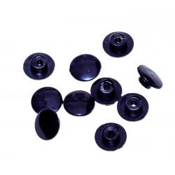 Afdekdopjes zwart 10 stuks