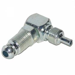 Remleiding verbindingsstuk haaks M10x1mm