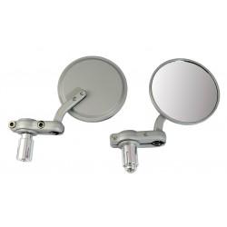 Spiegel set demper grijs