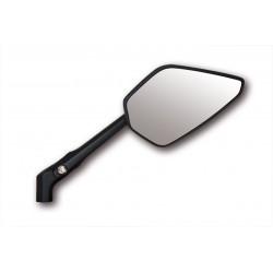 Spiegel set Columbia 2 aluminium zwart