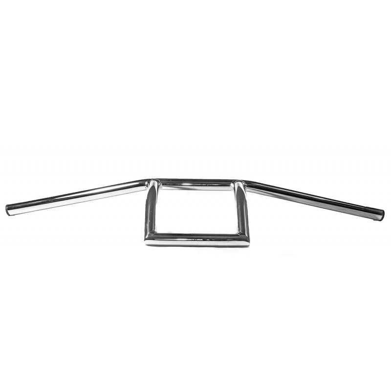 Stuur T-Bar Square chroom 22 mm