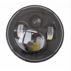 "LED Koplampunit 7"" rond 40W"