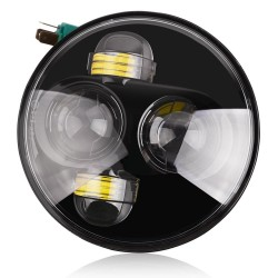 "LED Koplamp 5.75"" rond 40W"