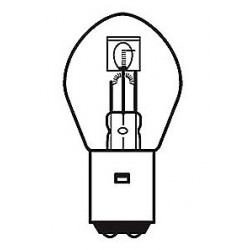 12V 35/35W lamp