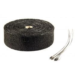 Uitlaatband 15 meter zwart
