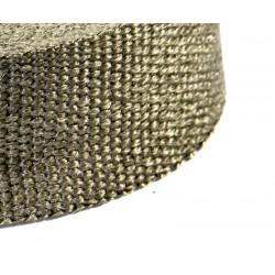 Uitlaatband 15 meter titanium