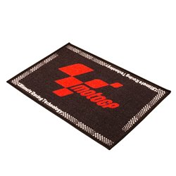 MotoGP Black Red Door Mat 90 X 60cm
