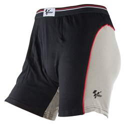 MotoGP Black/Grey Boxer Shorts - Large 36-38