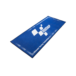 MotoGP Blue With White Logo Pro Garage Pit Mat 190 X 80cm