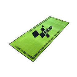 MotoGP Green With Black Logo Pro Garage Pit Mat 190 X 80cm
