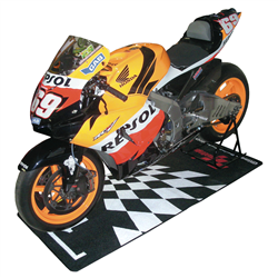 MotoGP Parc Ferme Design Garage Pit Mat 190 X 80cm