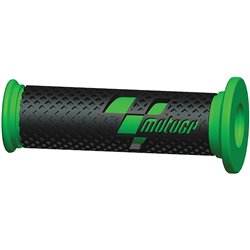 MotoGP Premium Race Grips Black Green