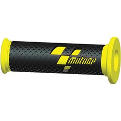 MotoGP Premium Race Grips Black Yellow
