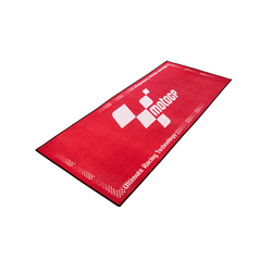 MotoGP Red With White Logo Pro Garage Pit Mat 190 X 80cm