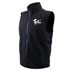 MotoGP Softshell Gilet Black Adult - S