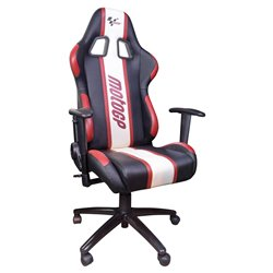 MotoGP Team Chair With Armrests Red / White / Black