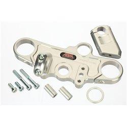Superbike triple clamps GSX-R 600 01-03 zwart