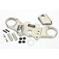 Superbike triple clamps ZX-9 R 02-19 zilver