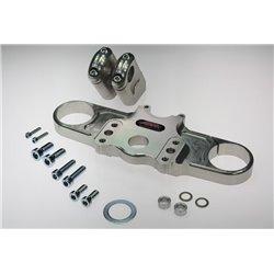 Superbike triple clamps CBR 900 RR 02-03 zwart