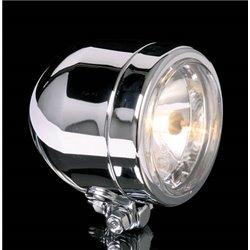 Spotlight 90mm chroom H7