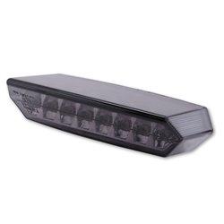 Achterlicht LED Boston zwart + kentekenverlichting