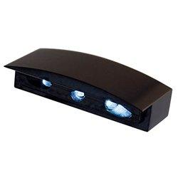 Kentekenplaatverlichting LED Mini Cap zwart