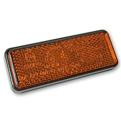 Reflector oranje bout M5 91,5x36mm