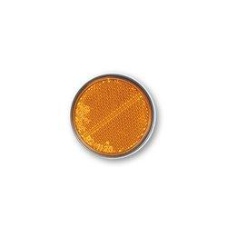 Reflector oranje zelfklevend ø60mm