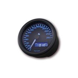 Snelheidsmeter Digitaal Velona zwart (260kmh)