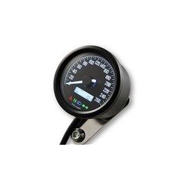 Snelheidsmeter Digitaal Velona 2 zwart (260kmh)