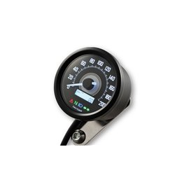 Snelheidsmeter Digitaal Velona 2 zwart (200kmh)