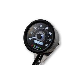 Snelheidsmeter Digitaal Velona 2 zwart (140kmh)