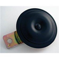 Claxon italian art zwart 12V 80 mm E-keur