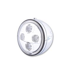 "Koplamp 5,75"" LED Atlanta chroom"