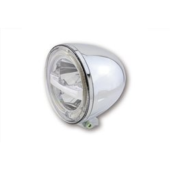 "Koplamp 5,75"" LED Circle chroom (onderbevestiging)"