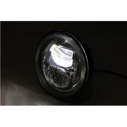 "Koplamp 5,75"" LED Frame-R2 type-7 zwart (onderbevestiging)"