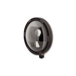 Koplamp 7� LED Frame-R1 Type-8 zwart (onderbevestiging)