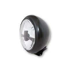 Koplamp 7� LED HD-Style zwart (achterbevestiging)