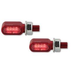 Knipperlichten/achterlicht/remlicht LED Little Bronx rood