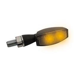 Knipperlichten LED Blaze zwart getint