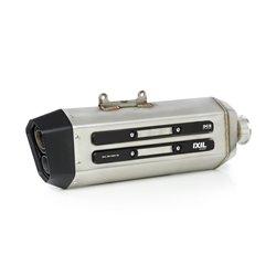 Uitlaatdemper MXT zilver/zwart | Suzuki DL1000 V-Strom